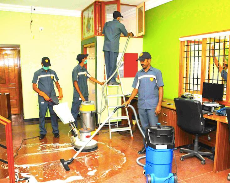 شركة تنظيف بينبع